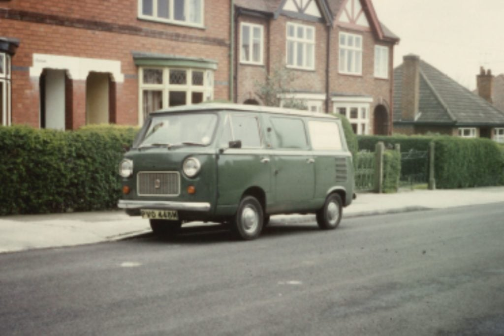 MIDFIX's first delivery van