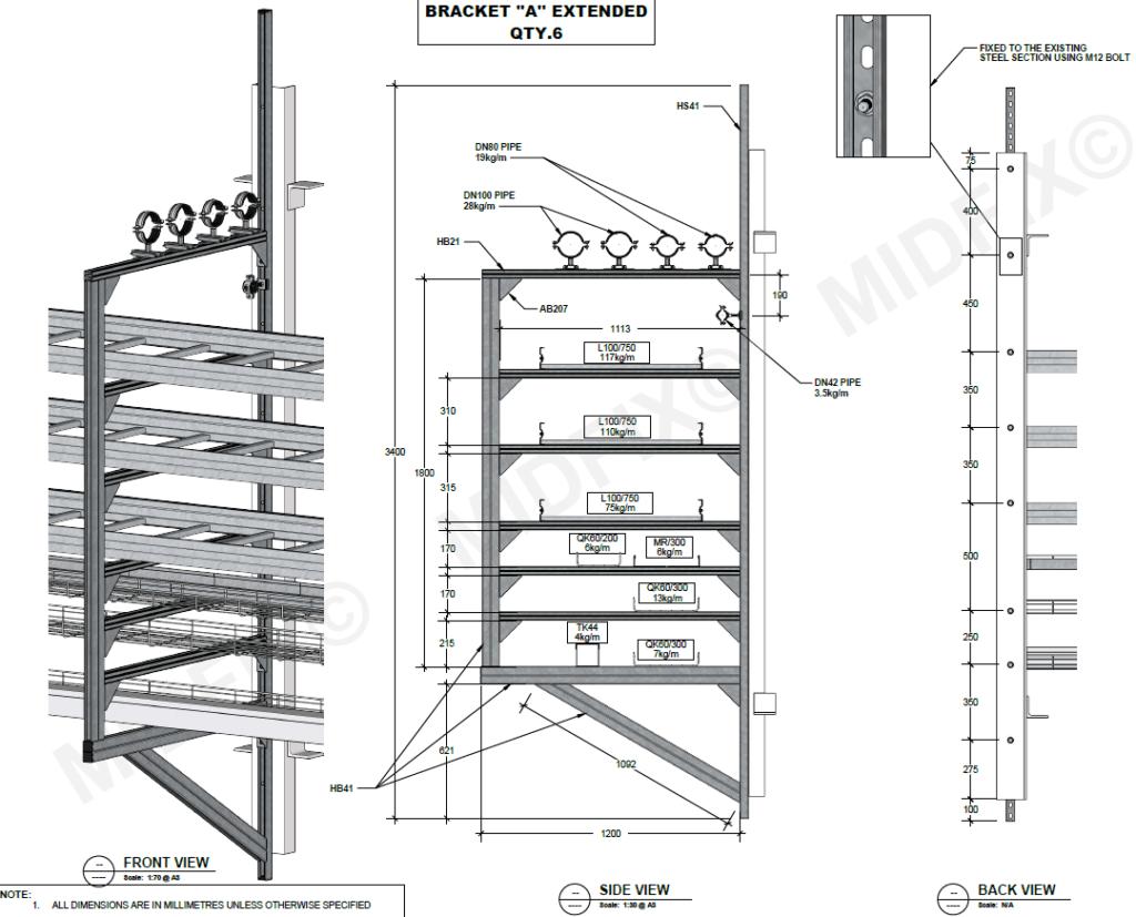 Containment Design -MIDFIX