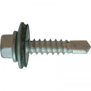 These quality screws have a high tech organic coating for superior rust proofing qualities to standard zinc plating and a neoprene bonded washer for weathersealing.