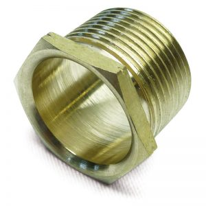 Male threaded brass bushes