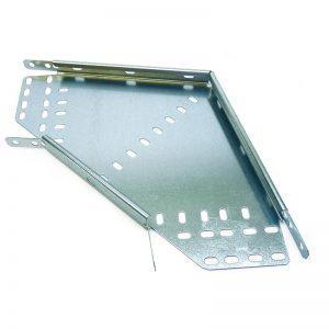90 degree Pre-galvanised medium tray bends