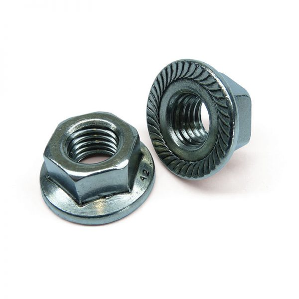 Stainless Serrated Flange Nut