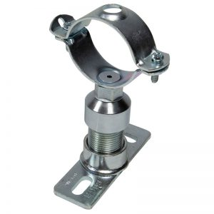 Steel mounting plate anchors