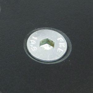 BZP socket countersunk screw application shot