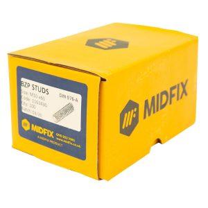 BZP studs MIDFIX box