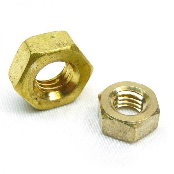 Brass Full Nuts