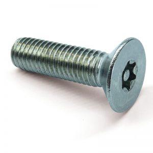 Pin Torx countersunk machine screws