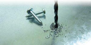 Stainless steel pozi pan self tapper screw 2