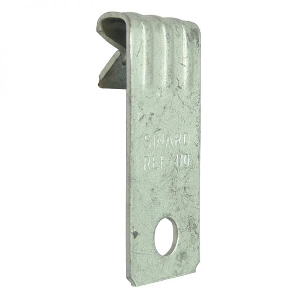 Vertical flange girder clip