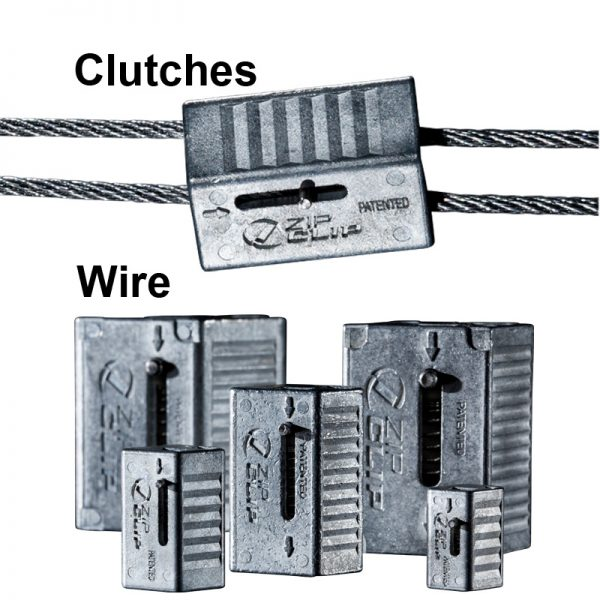 Zip-clip wire system