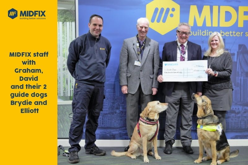 Guide Dogs Cheque Presentation