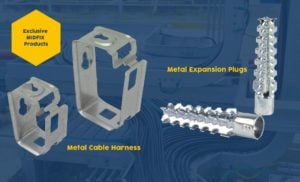 Metal Cable Harness & Metal Expansion Plugs