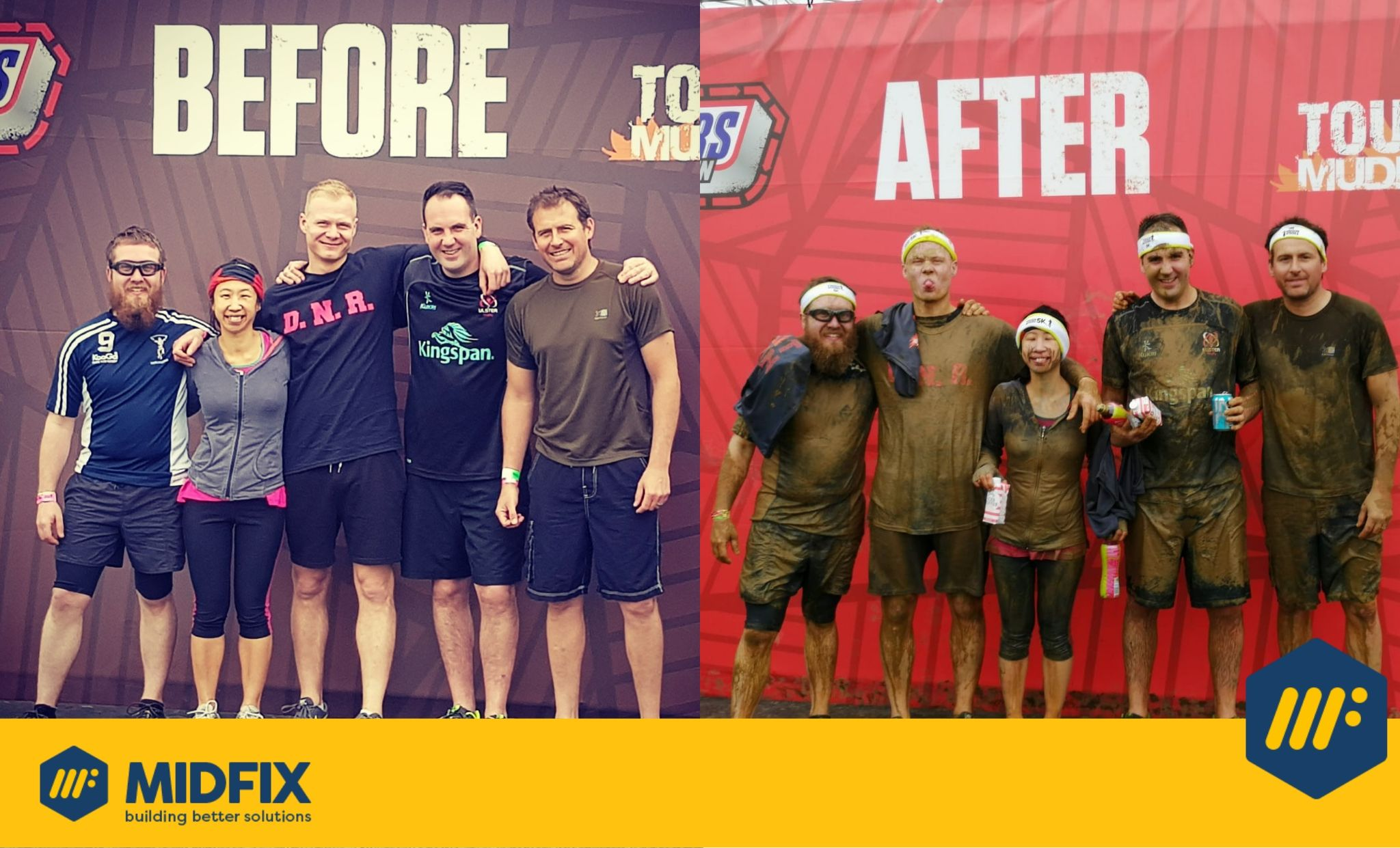 Tough Mudder - MIDFIX