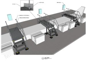 Walkway Platforms - MIDFIX