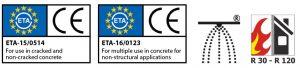 ETA rod hangers compliance