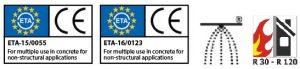 ETA concrete screws approvals