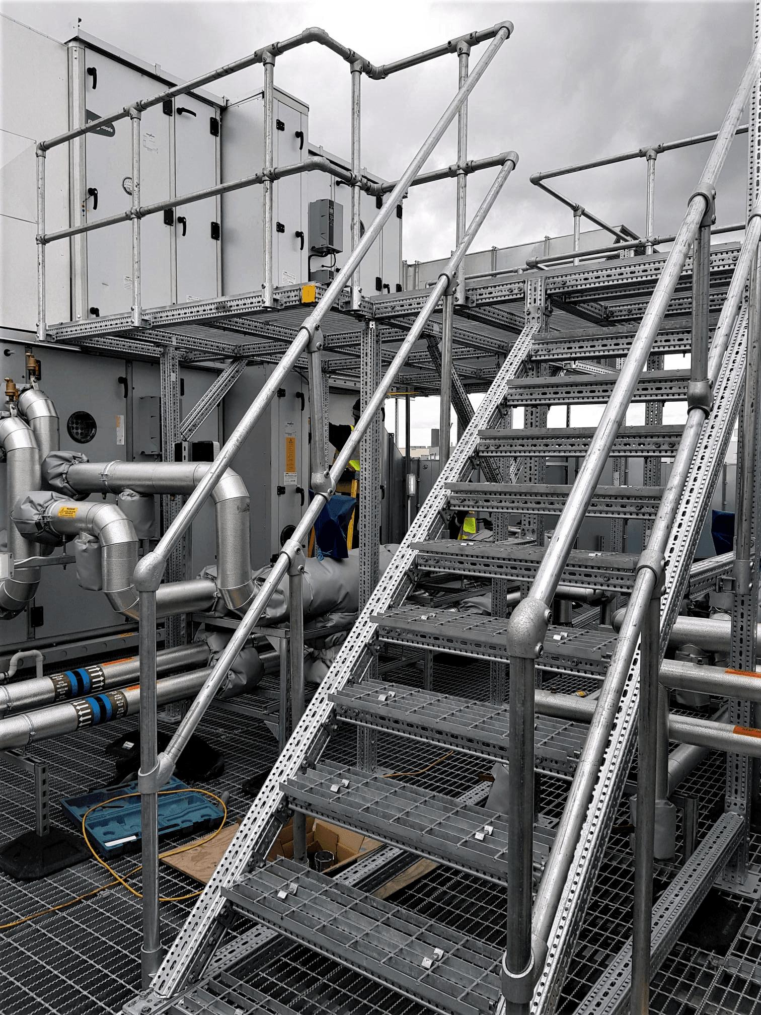 Access Platform installed on site
