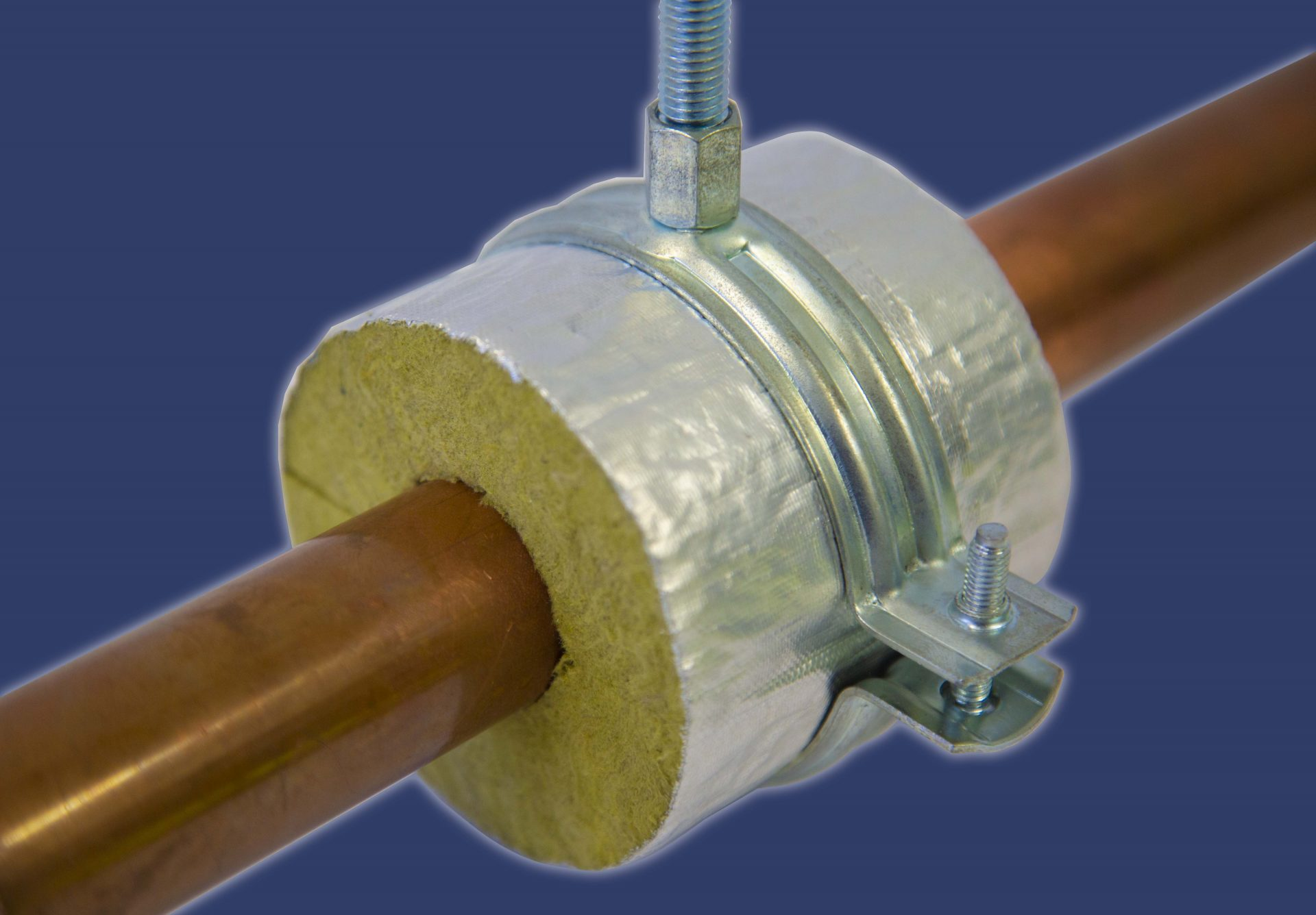 rockwool pipe support blocks