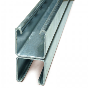 back to back stainless steel channel
