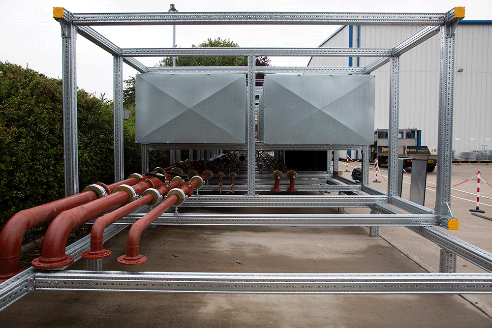Why SIKLA Framo modular steelwork is proving popular
