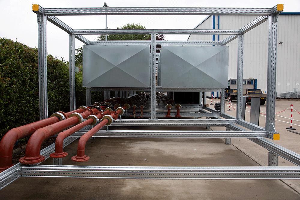 Frano modular steelwork
