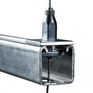 Strut Lock shown suspending from strut