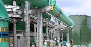 QMEXX modular pipe supports
