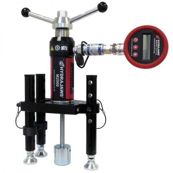 hydraulic pull tester for anchors