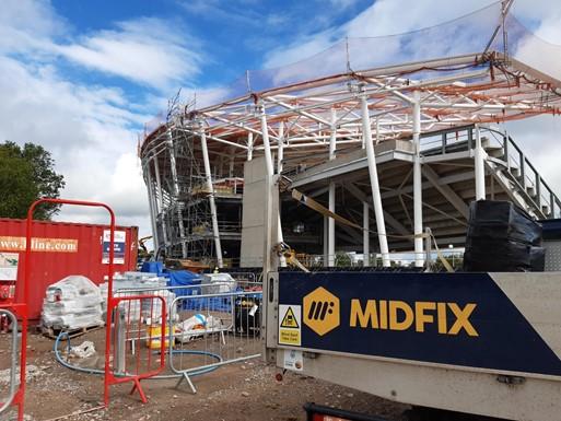 Alexander Stadium MIDFIX solutions
