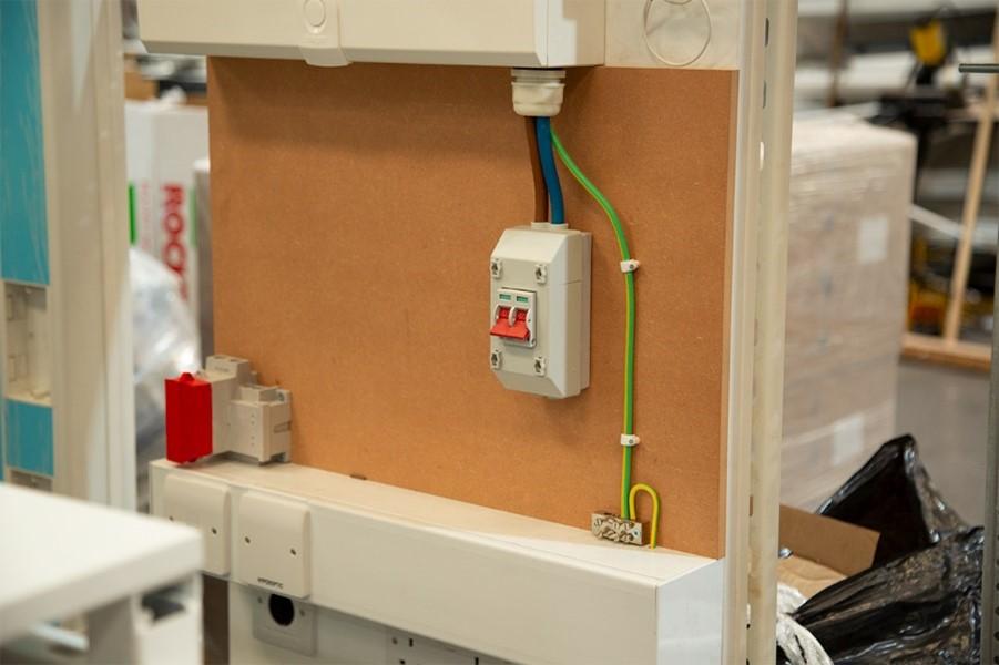 Electrical utility frames